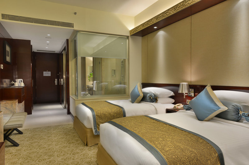 Crowne Plaza Ahmedabad City Centre Zimmeransicht