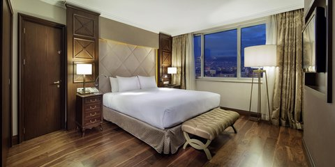هيلتون قيصري - Terrace Suite Bedroom