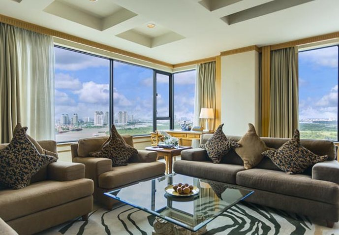 Renaissance Riverside Hotel Saigon Vista do quarto