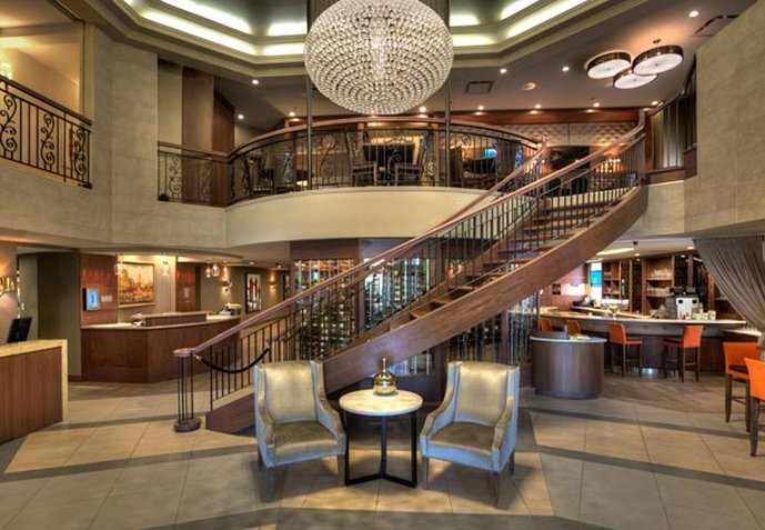 Marriott Quebec City Downtown Lobby