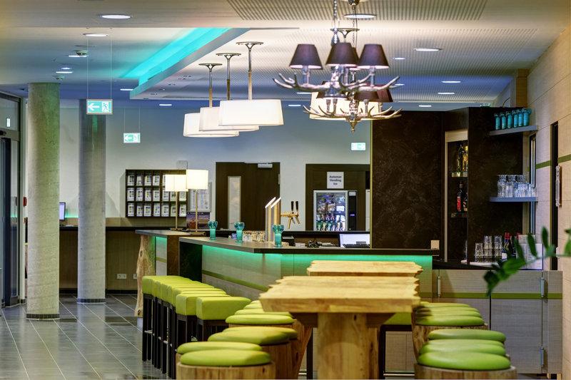 Holiday Inn Express Augsburg Bar/Lounge