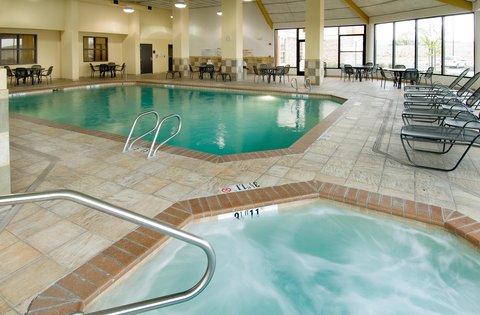Drury Inn and Suites Albuquerque - Indoor Pool   Whirlpool