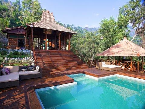Villa Borobudur - Private estate offering luxury villa-hotels