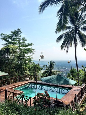 Villa Borobudur - View Villa Menoreh Pool