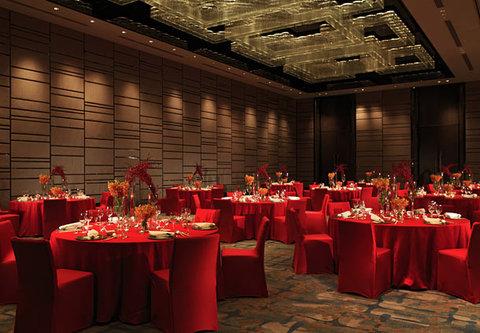 北京王府井大饭店 - Jinmao Grand Ballroom   Banquet Setup