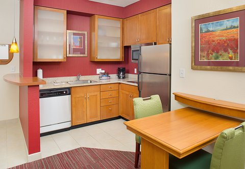 Residence Inn Harrisburg Hershey - One and Two-Bedroom Suite - Kitchen