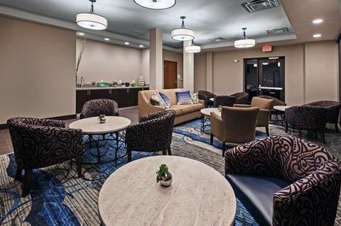 Holiday Inn Express & Suites GLENPOOL-TULSA SOUTH - Reception Lounge