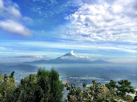 Villa Borobudur - Breathtaking views of Mount Sumbing