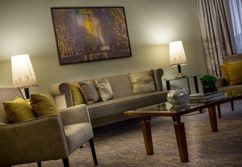 杜塞尔多夫尼盛万丽酒店 - Junior Suite   Living Area