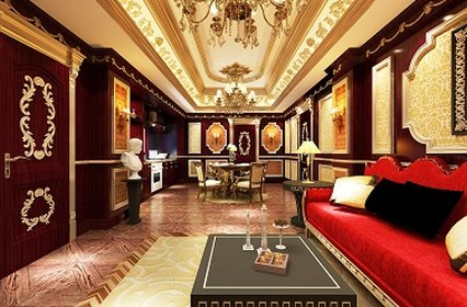 Boss Legend Hotel - Living Room At Presidential Suites
