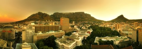 Taj Cape Town - View From Mountain room