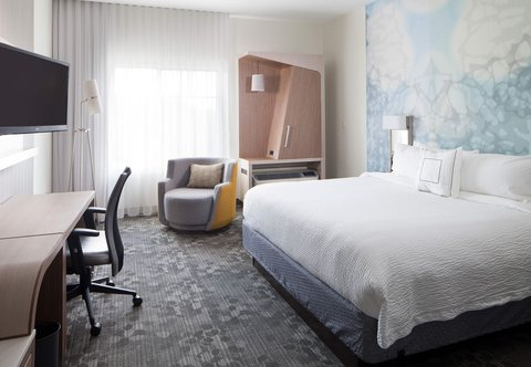 Courtyard Palm Beach Jupiter - King Guest Room