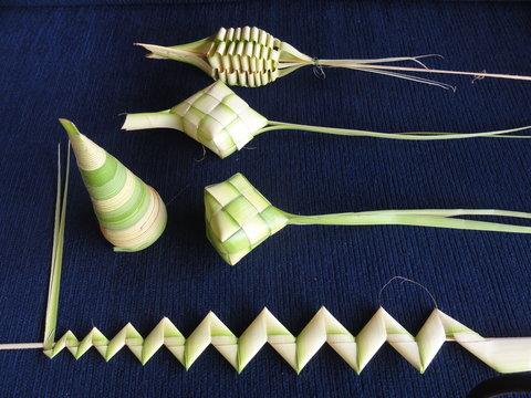 Villa Borobudur - Palm Leaf Weaving