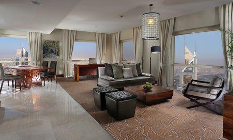 Millennium Plaza Dubai - Executive Suite Living Room
