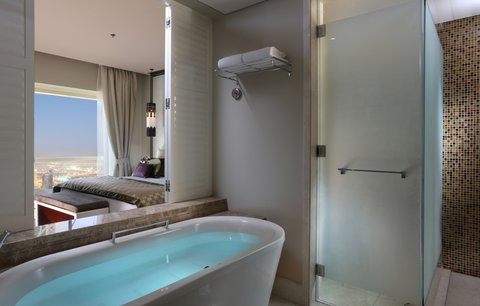 Millennium Plaza Dubai - Premium Room Bathroom