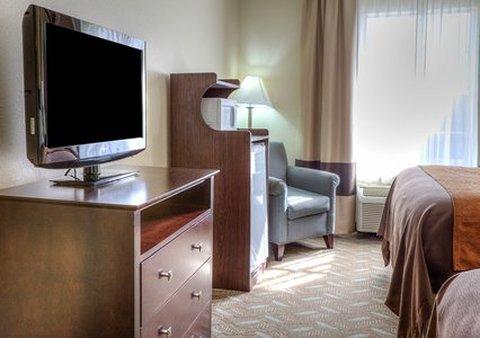 柱廊凯富套房酒店 - Bedroom