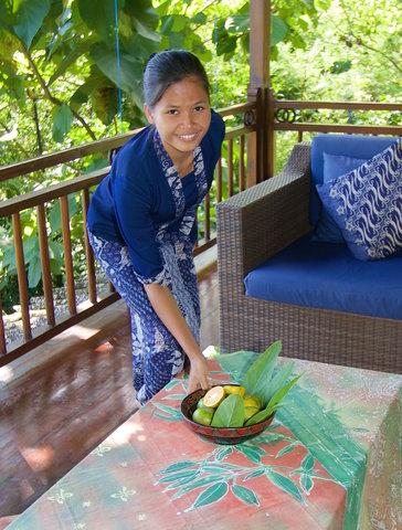 Villa Borobudur - Our lovely staff