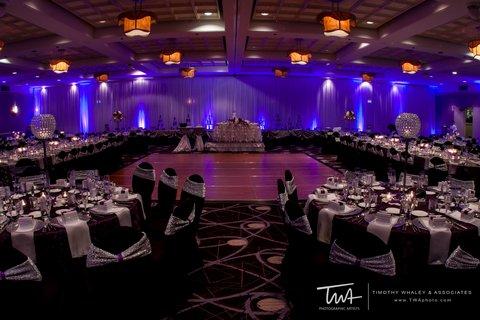 Holiday Inn Chicago Mart Plaza Hotel - Sauganash Ballroom Wedding Reception