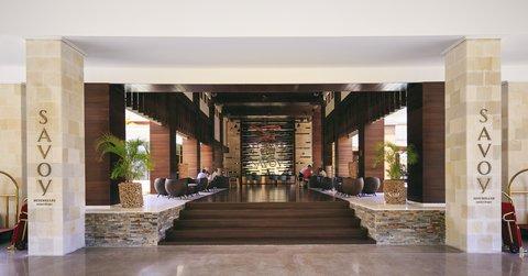 Savoy Resort & Spa Seychelles - Hotel Entrance