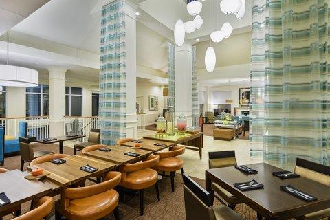 希爾頓黑得希爾頓花園酒店 - Restaurant Seating