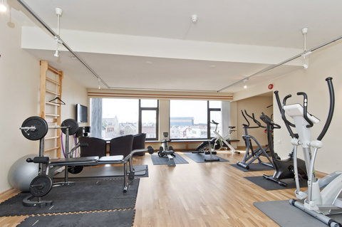 Thon Hotel Saga - Fitness Room