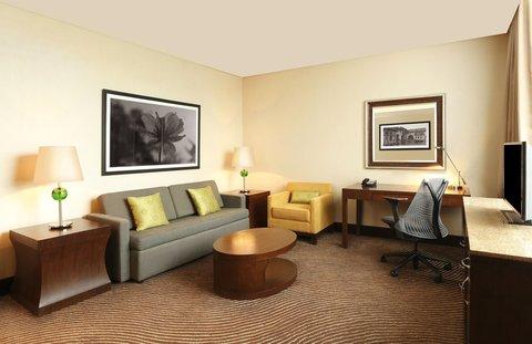 Hilton Garden Inn Trivandrum - Suite Living Room
