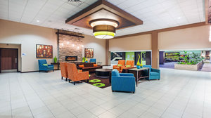 Lobby - Holiday Inn Express Airport Little Rock