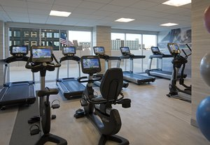 Fitness/ Exercise Room - Marriott Hotel Country Club Plaza Kansas City