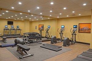Fitness/ Exercise Room - Holiday Inn Presidential Conference Center Little Rock