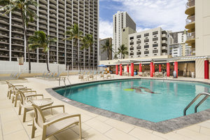 Pool - Aston Waikiki Beach Hotel Honolulu