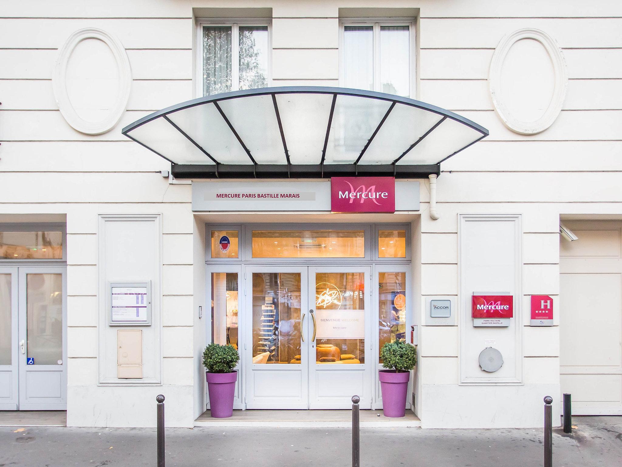 Mercure Paris Voltaire Quartier Bastille