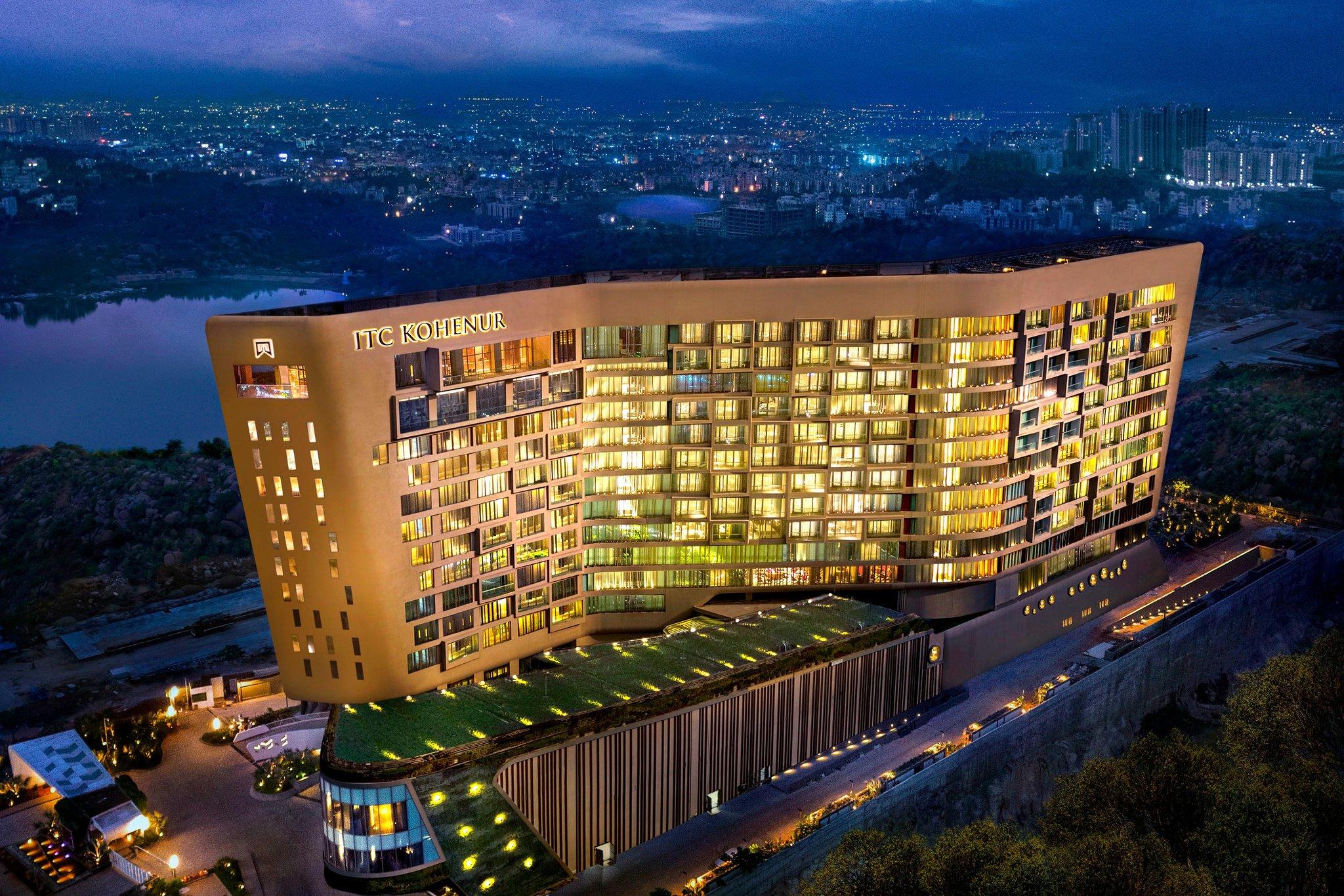 itc kohenur  a luxury collection hotel