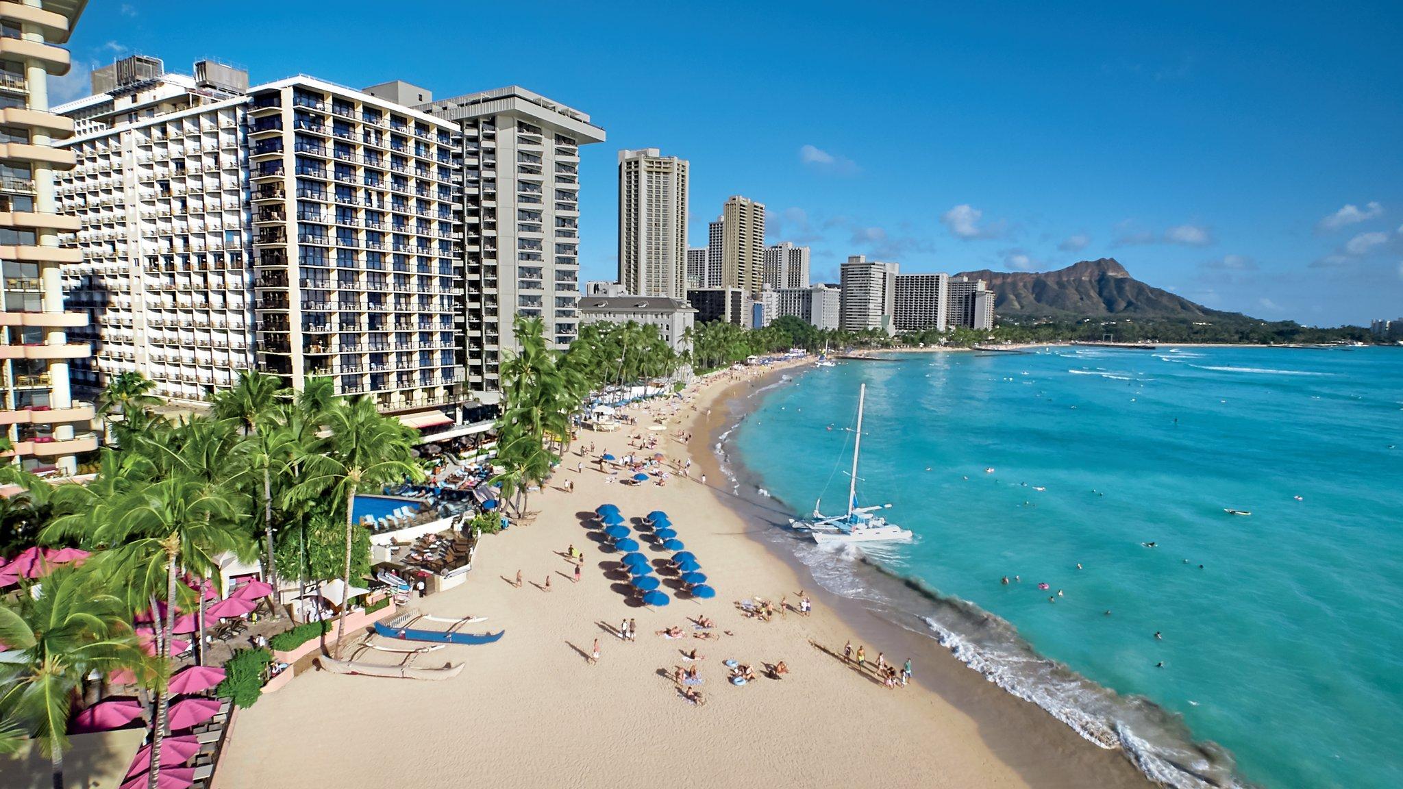 Outrigger Waikiki Beach Resort First Class Honolulu Hi Hotels