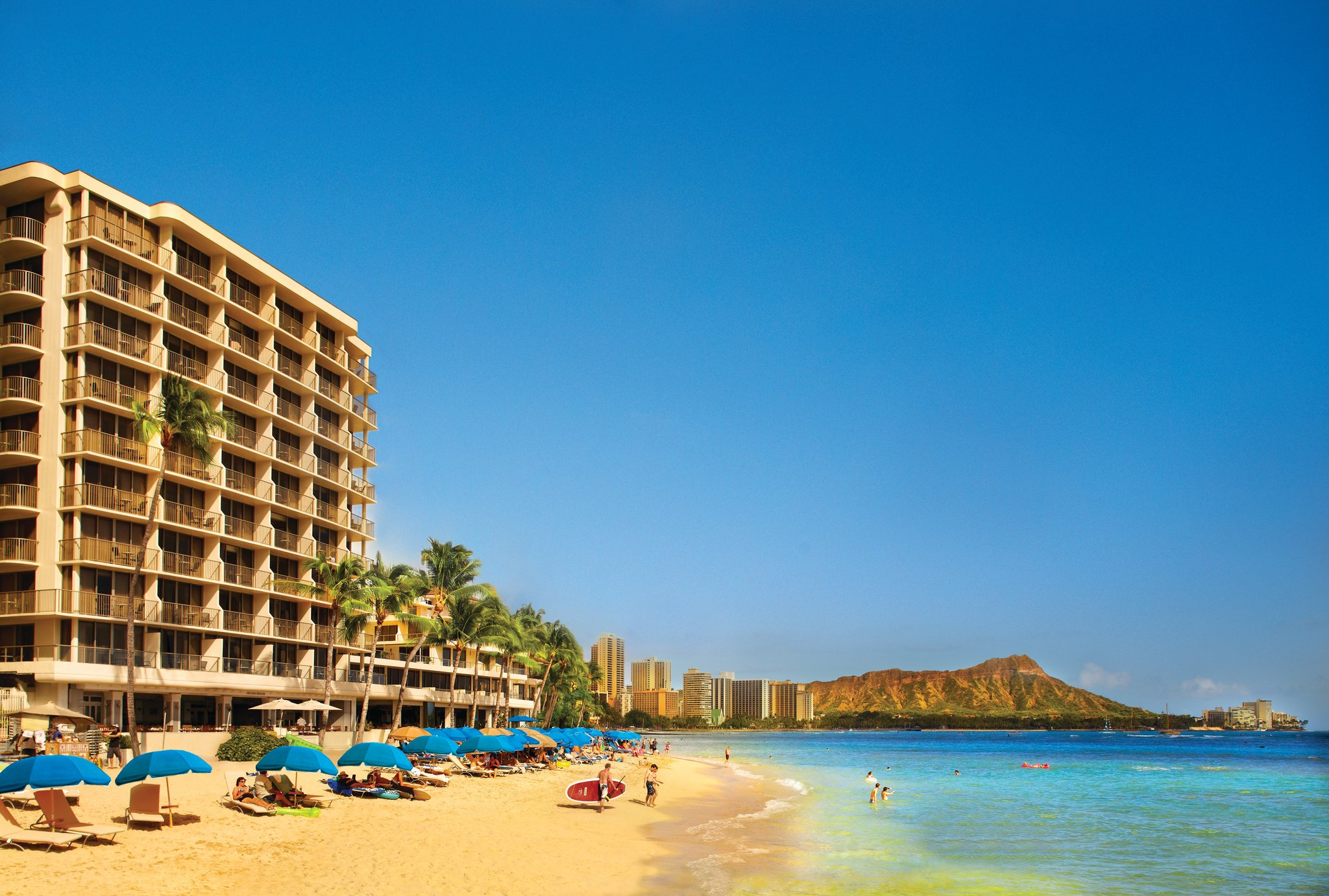 Outrigger Reef Waikiki Beach Resort First Cl Honolulu Hi Hotels Gds Reservation Codes Travel Weekly