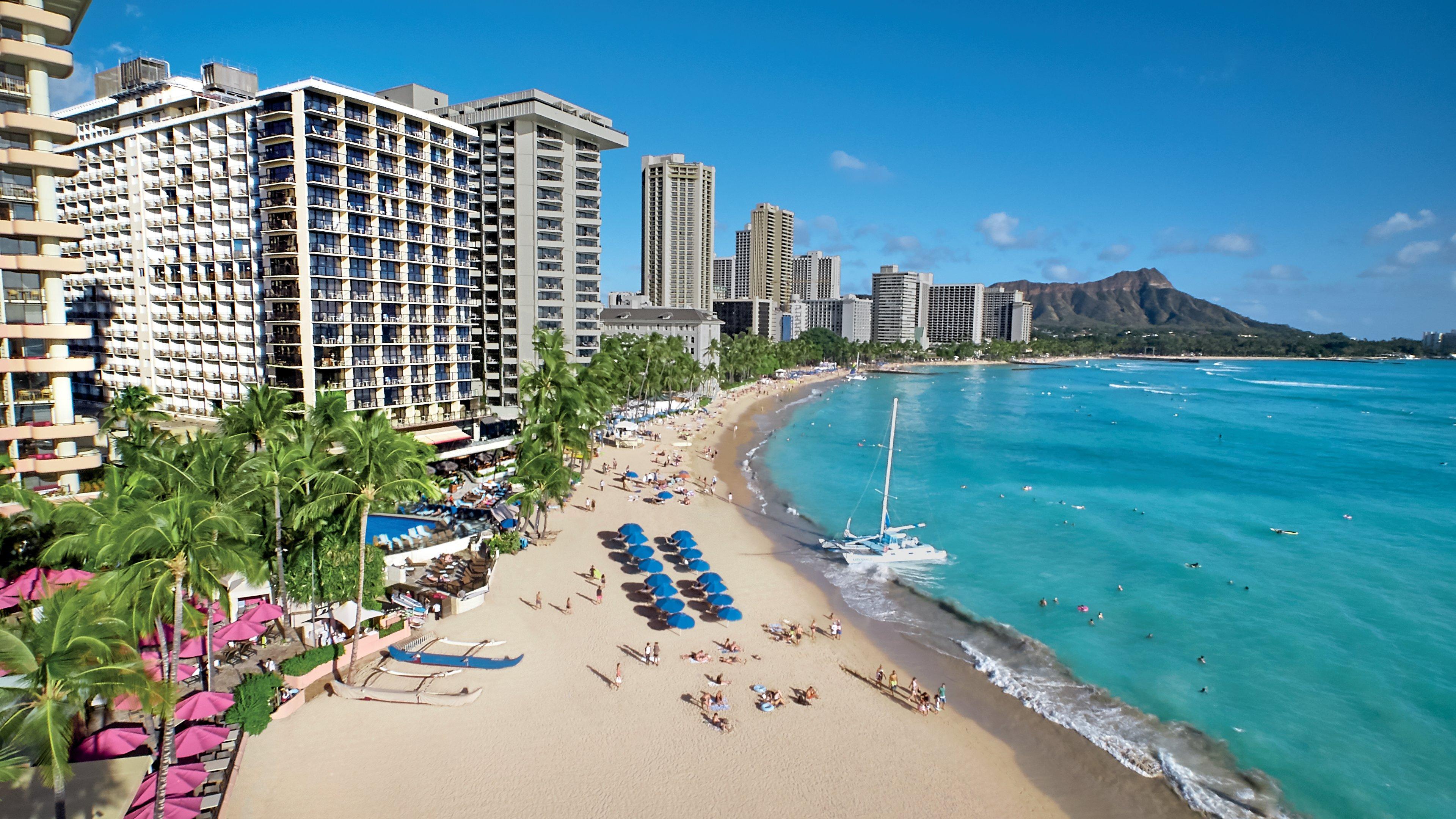 Outrigger Waikiki Beach Resort First