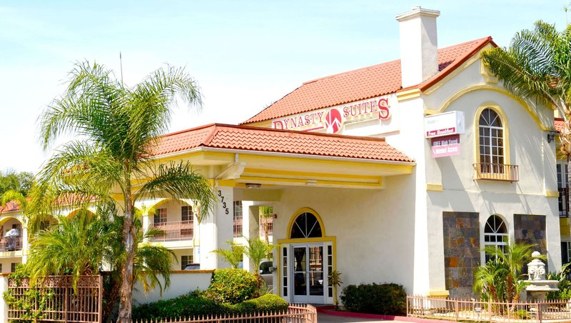 MH DynastySuitesHotel Riverside CA Property Exterior