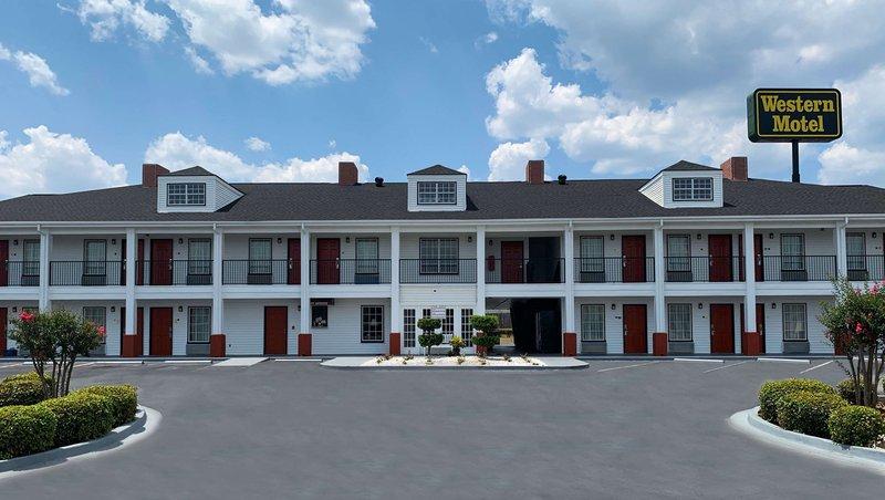 MH WesternMotel Fitzgerald GA Property Exterior