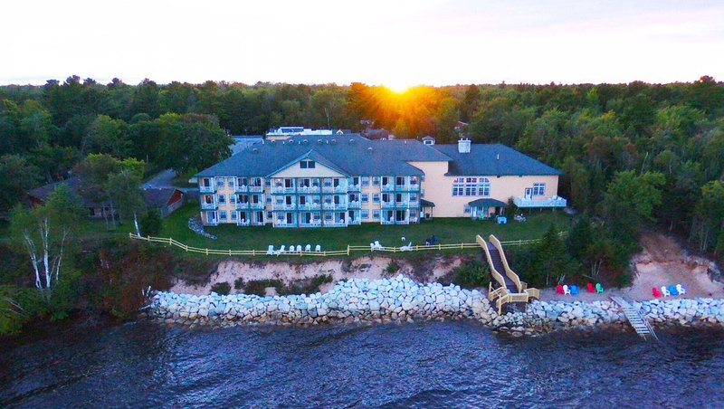MG Lakefront Paradise MI Property Exterior